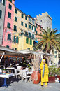 View in portovenere italy porto venere beautifull village Royalty Free Stock Photos