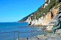 View in portovenere italy porto venere beautifull village Royalty Free Stock Image