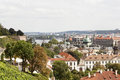 View of prague czech republic a city and the capital the the administrative center the central bohemia region and its two Stock Images