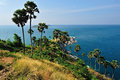 View of a promthep cape phuket island thailand Royalty Free Stock Photo