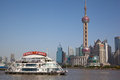 View of Pudong Royalty Free Stock Images