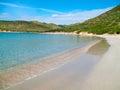View of a Punta Molentis beach, Sardinia, Italy. Royalty Free Stock Photo