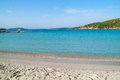 View of a Punta Molentis beach, Sardinia, Italy. Royalty Free Stock Photo