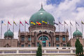 View of Putra Palace, Prime Minister`s Office in Putrajaya, Malaysia