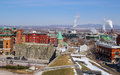 view of quebec city Royalty Free Stock Photo