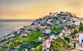 View of Ravello village on the Amalfi Coast Royalty Free Stock Photo