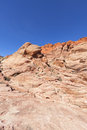 View of Red Rock Canyon in the Mojave Desert. Royalty Free Stock Photography