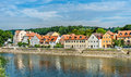 View of Regensburg with the Danube River in Germany Royalty Free Stock Photo