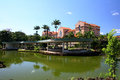 View of resort in minas gerais brazil Stock Image