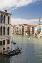View From Rialto Bridge Royalty Free Stock Image