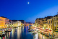 View from Rialto bridge on June 30, 201 Stock Photography