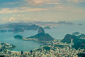 View at rio drom corcovado hill Stock Image