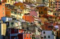 View of Riomaggiore, Cinque Terre national park, Liguria, Italy Royalty Free Stock Photo