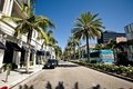 View of Rodeo Drive in Los Angeles Stock Photography