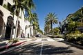 View of Rodeo Drive in Los Angeles Stock Photos