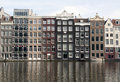View at the rokin canal in amsterdam netherlands may Royalty Free Stock Photography
