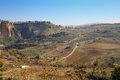View upon Ronda playns Royalty Free Stock Photo