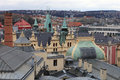 View of roof municipal house in Prague Royalty Free Stock Photo