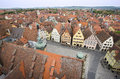 View of Rothenburg ob der Tauber, Germany Royalty Free Stock Photo