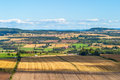 View of rural landscape Royalty Free Stock Photo