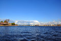View of Saint Petersburg from Neva river. The Peter and Paul For Stock Images