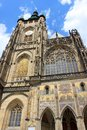 St Vitus Cathedral Facade Royalty Free Stock Photo