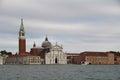 View of the san giorgio maggiore venice is a palladio s designed basilica in s island in front marco Royalty Free Stock Photo
