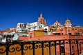 View of San Miguel de Allende, Mexico Royalty Free Stock Photo