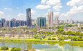 View of sao paulo and the river brazil Royalty Free Stock Images