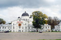 View of savior s church staroyarmarochny taken on in nizhny novgorod rusia Stock Photography