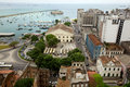View scape of Salvador de Bahia Royalty Free Stock Photo