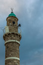 View of the Sea Mosque in the old town of Jaffa - 3 Royalty Free Stock Photo