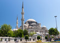 "View of the sehzade mosque in istanbul turkey on may is sometimes referred to as ""prince s mosque"" and Royalty Free Stock Photo"