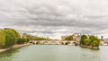 View of Seine and Ile de la Cite in Paris