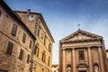 View sienna facades tuscany italy Stock Image