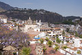 View of the silver city Taxco Royalty Free Stock Photo