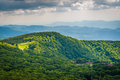 View of Skyland Resort and layers of the Blue Ridge Mountains, f