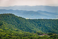 View of Skyland Resort and layers of the Blue Ridge Mountains fr