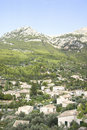 View on small village Deia, Majorca Stock Photography