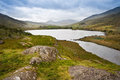 View of Snowdon from Llyn Mymbyr Royalty Free Stock Photography