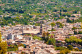 View of soller the city from a height mallorca balearic islands spain Royalty Free Stock Photo