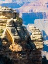 Rim trail Grand Canyon View Royalty Free Stock Photo