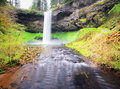 The  View Of south Silver Falls Royalty Free Stock Photo