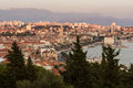View Of Split's Old Town And B...