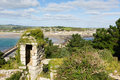 View from St Michaels Mount Cornwall England UK Royalty Free Stock Photo