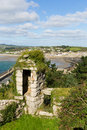 View on St Michaels Mount Marazion Cornwall England UK Stock Photo