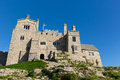 View on St Michaels Mount Marazion Cornwall England UK Royalty Free Stock Photo