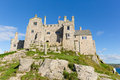 View on St Michaels Mount Marazion Cornwall England UK Royalty Free Stock Images