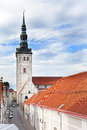 View on St. Nicholas' Church (Niguliste).Tallinn, Royalty Free Stock Image