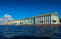 View of St. Petersburg. Winter Palace from Neva Stock Photography